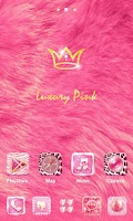 Screenshot of Luxury Pink GO Launcher Theme