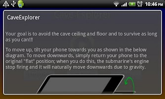 Screenshot of Cave Explorer
