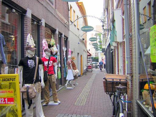 Alkmaar, le Strade