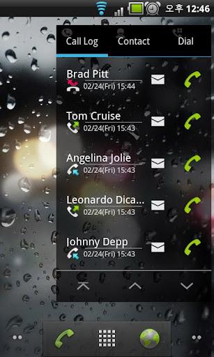Widget Phone Free - 通話記錄