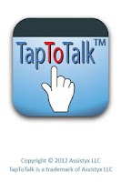 Screenshot of TapToTalk