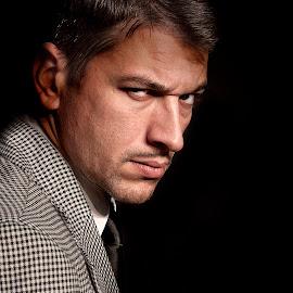 by Vladimir Jablanov - People Portraits of Men