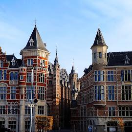Antwerpen by Meglena Georgieva - City,  Street & Park  Historic Districts ( antwerpen, wallpaper, belgium, architecture, travel, walk, city )