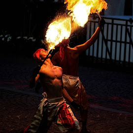 THE FLAME THROWER by Khussuma Neeghara - News & Events Entertainment