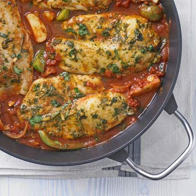 Fragrant Fish Tagine
