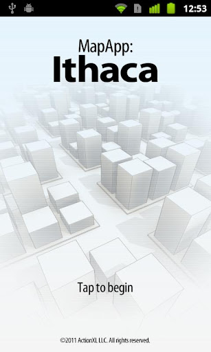 MapApp: Ithaca