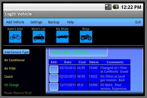 工具必備APP下載|LogIt! Vehicle 好玩app不花錢|綠色工廠好玩App
