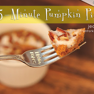 5-Minute Pumpkin Pie