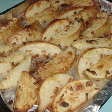 Garlic Potato Wedges