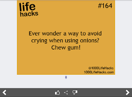 Screenshot of Best Life Hacks Collection