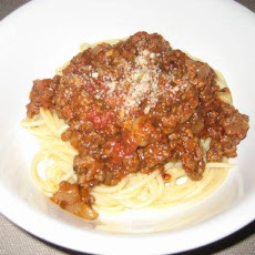 Man Made Meat Sauce