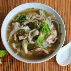 Chinese Five Spice Chicken Noodle Soup
