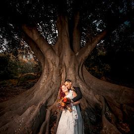 Intimate Moment by Irwan Budiarto - Wedding Bride & Groom ( love, wedding, intimate, couple, bride and groom,  )