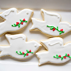 Christmas Dove Cookies