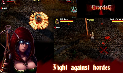exorcist-3d-fantasy-shooter for android screenshot