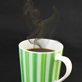 Steaming Coffee by Diane Bell - Food & Drink Alcohol & Drinks ( mug, food and drink, coffee, drink )
