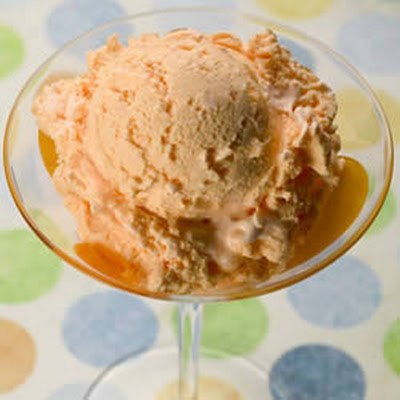 Georgia Peach Homemade Ice Cream