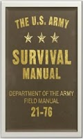 Screenshot of Army Survival Manual