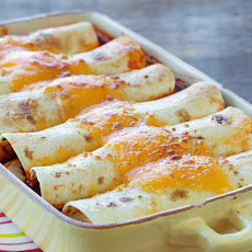 Hidden Valley® Green Chile Chicken Enchiladas