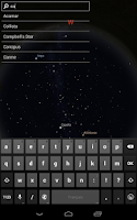 Screenshot of Stellarium Mobile Sky Map