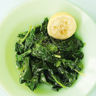 Sauteed Spinach With Lemon Juice Recipes