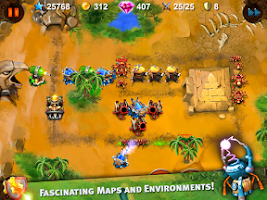 Screenshot of Goblin Defenders: Steel'n'Wood