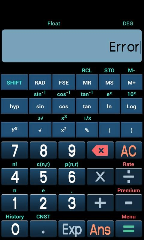 New Scientific Calculator Screenshot 6