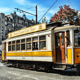 Porto Tram City Tour by Antonio Amen - Transportation Other ( tourism, tram, tour, portugal, porto, city )