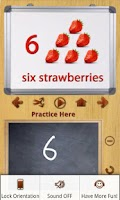Screenshot of Kids Learn n Write 123 (Free)