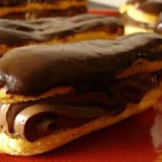 Chocolate Cheese Eclairs