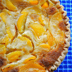 Buttermilk Peach Pie