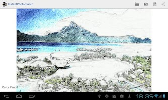 Screenshot of Instant Photo Sketch (Demo)