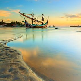 Perancak Bay by Gus Mang Ming - Landscapes Travel ( bali, bay, jembrana, perancak,  )