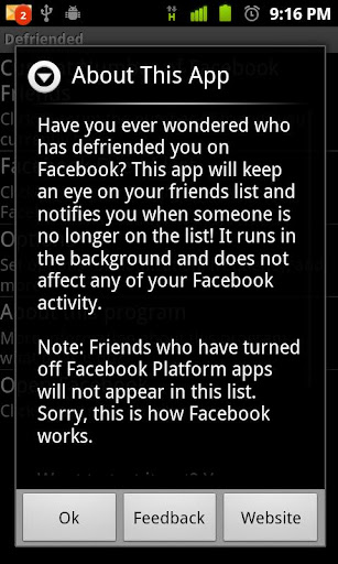 Defriended Ad-Free