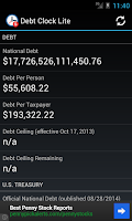 Screenshot of Debt Clock Lite