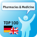 100 Pharmacies & Medi Keywords icon