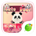 Download Cute Bear GO Keyboard Theme APK to PC