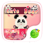 Cute Bear GO Keyboard Theme 4.178.100.84 Apk