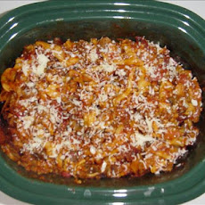 Crock Pot Rigatoni