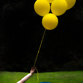 Yellow Ballons by Anna Melendez - People Couples ( miami photographer, compromiso, forest, yellow, recinto del pensamiento, photography, love, amor, colombia, ballons, dany y jean pierre, couple sessions, engagement,  )