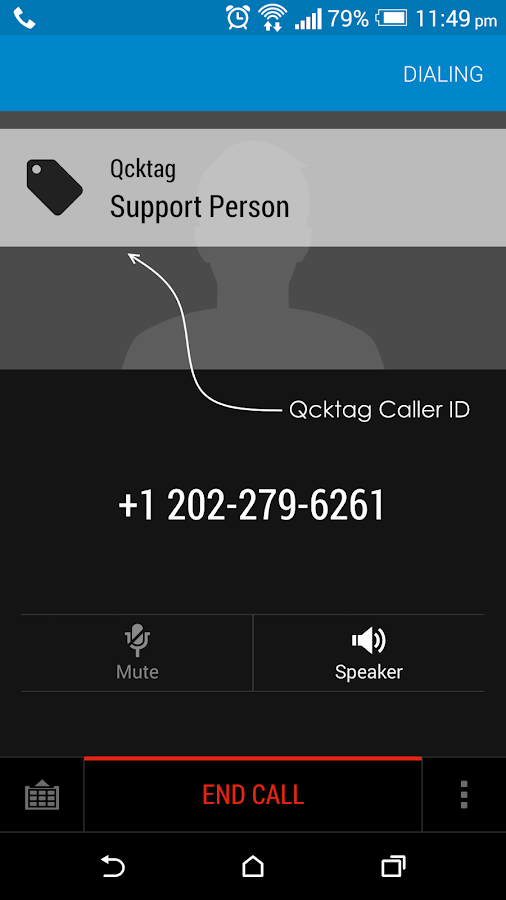 Qcktag - temporary contacts Screenshot 6