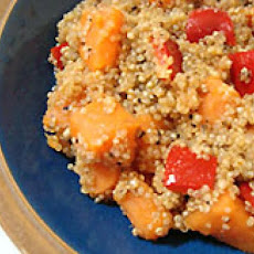 Spicy Sweet Potato and Quinoa Salad