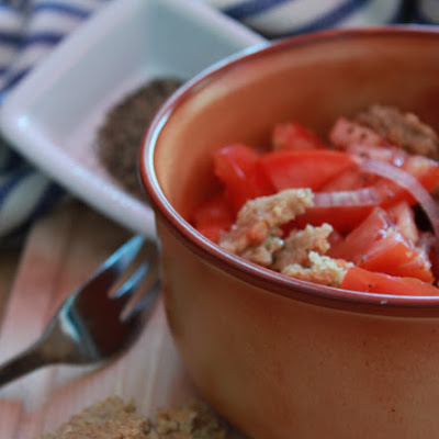 Frisella with Tomato and Onion