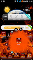 Screenshot of NEXT LAUNCHER 3D THEME FLAME
