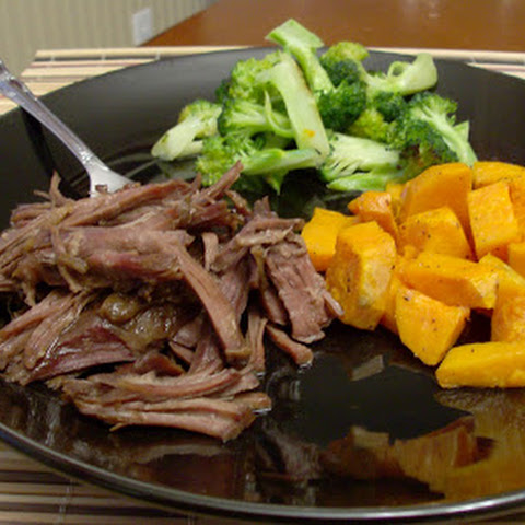 Slow Cooker Perfectly Shreddable, Tender and Moist Roast Beef in the Slow Cooker