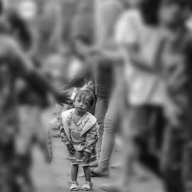 Little dancer by JudiEndjun Ultrasound - City,  Street & Park  Street Scenes
