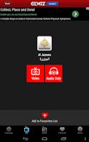 Screenshot of GLARAB