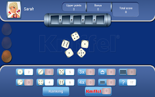 Screenshot of Kniffel FREE