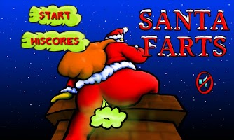 Screenshot of Santa Farts