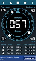 Screenshot of Field Compass